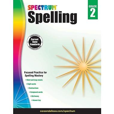 eBook: Spectrum 704598-EB Spectrum Spelling, Grade 2