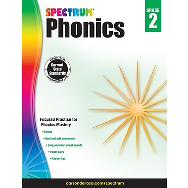 eBook: Spectrum 704605-EB Spectrum Phonics, Grade 2