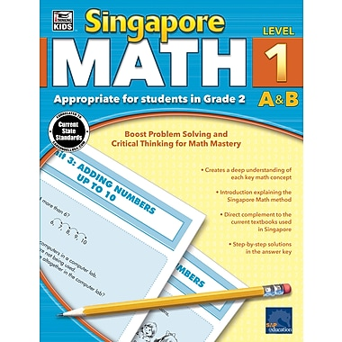 eBook: Thinking Kids 704679-EB Singapore Math, Grade 2