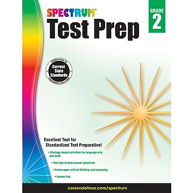 eBook: Spectrum 704688-EB Spectrum Test Prep, Grade 2