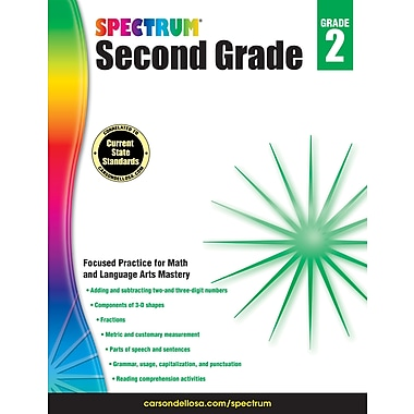 eBook: Spectrum 704871-EB Spectrum, Grade 2