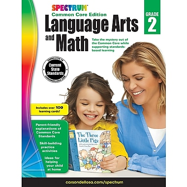 eBook: Spectrum 734045-EB Spectrum Language Arts and Math, Grade 2