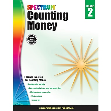 e-Book: Carson-Dellosa 704981-EB Counting Money, Grade 2