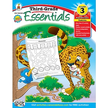 eBook: Carson-Dellosa 104538-EB Third-, Grade Essentials, Grade 3