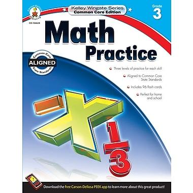 Livre numérique : Carson-Dellosa� -- Math Practice 104628-EB, 3e année