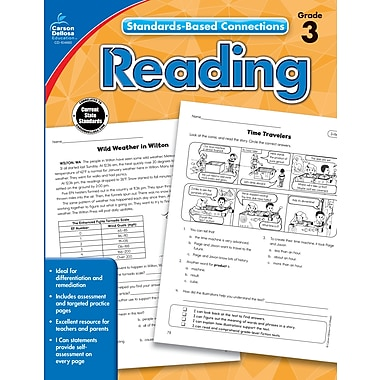 eBook: Carson-Dellosa 104660-EB Reading, Grade 3