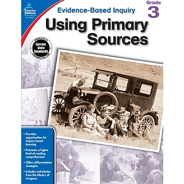 eBook: Carson-Dellosa 104861-EB Using Primary Sources, Grade 3