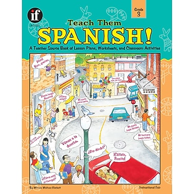 eBook: Instructional Fair 1568228422-EB Teach Them Spanish!, Grade 3