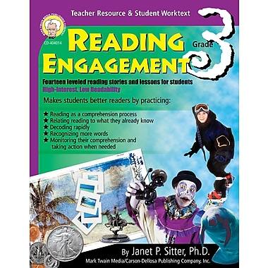 eBook: Mark Twain 404014-EB Reading Engagement, Grade 3