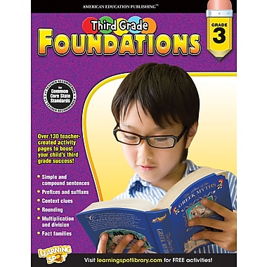 eBook: American Education Publishing 704264-EB Third, Grade Foundations, Grade 3