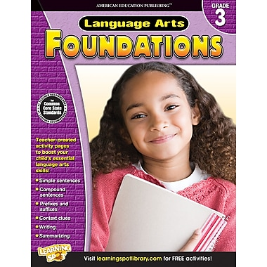 eBook: American Education Publishing 704274-EB Language Arts Foundations, Grade 3