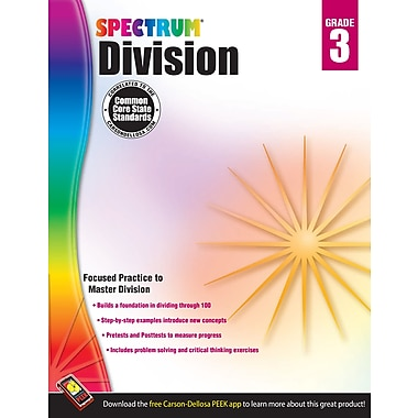 eBook: Spectrum 704508-EB Division, Grade 3