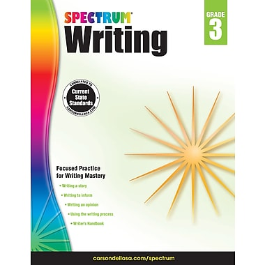 eBook: Spectrum 704572-EB Spectrum Writing, Grade 3