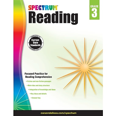 eBook: Spectrum 704581-EB Spectrum Reading, Grade 3
