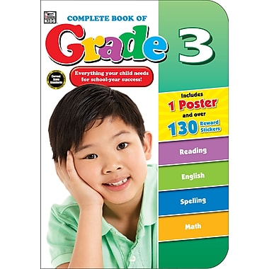 eBook: Thinking Kids 704673-EB Complete Book of, Grade 3, Grade 3