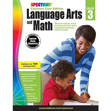 Livre numérique : Spectrum 734046-EB Spectrum Language Arts and Math, 3e année