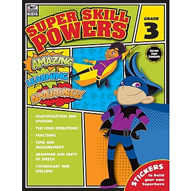 e-Book: Carson-Dellosa 704939-EB Super Skill Powers, Grade 3