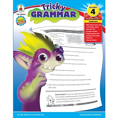 Livre numérique : Carson-Dellosa� -- Tricky Grammar 104441-EB, 4e année