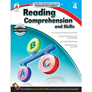 Livre numérique : Carson-Dellosa� -- Reading Comprehension and Skills 104622-EB, 4e année