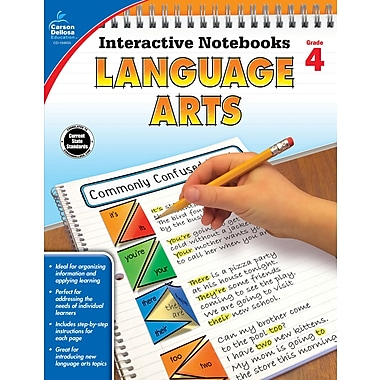 eBook: Carson-Dellosa 104655-EB Language Arts, Grade 4