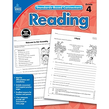 eBook: Carson-Dellosa 104661-EB Reading, Grade 4