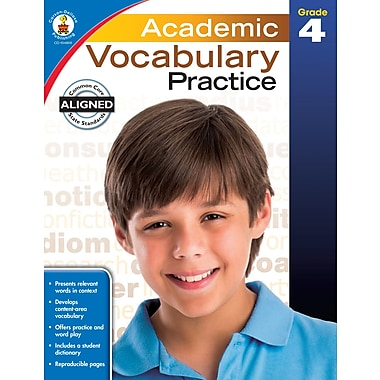 eBook: Carson-Dellosa 104809-EB Academic Vocabulary Practice, Grade 4