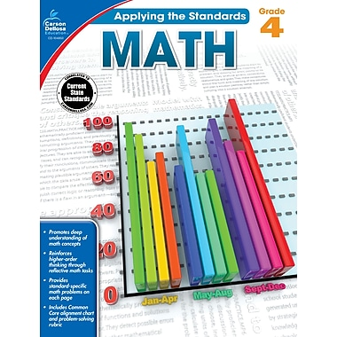 eBook: Carson-Dellosa 104850-EB Math, Grade 4
