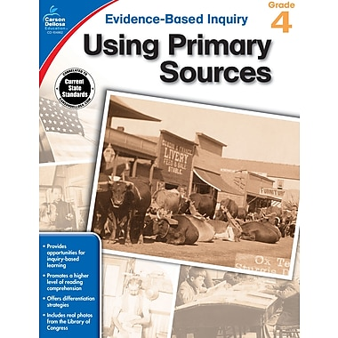 eBook: Carson-Dellosa 104862-EB Using Primary Sources, Grade 4