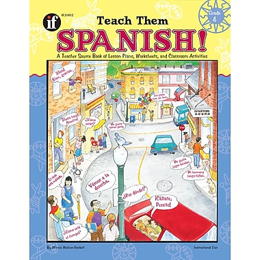 eBook: Instructional Fair 1568226810-EB Teach Them Spanish!, Grade 4