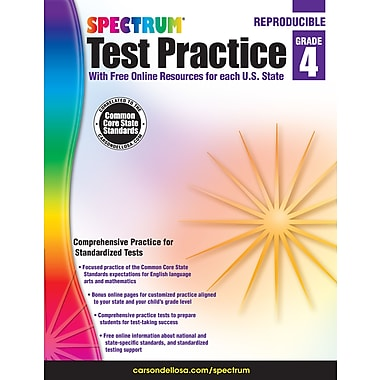 eBook: Spectrum 704250-EB Spectrum Test Practice, Grade 4