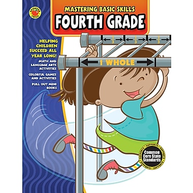 eBook: Brighter Child 704434-EB Mastering Basic Skills® Fourth Grade, Grade 4
