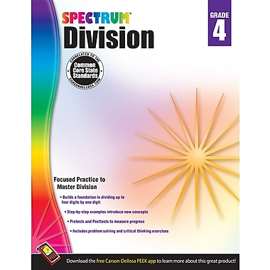 eBook: Spectrum 704510-EB Division, Grade 4