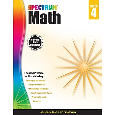 eBook: Spectrum 704564-EB Spectrum Math, Grade 4