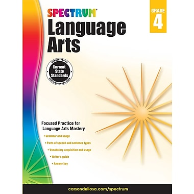 eBook: Spectrum 704591-EB Spectrum Language Arts, Grade 4