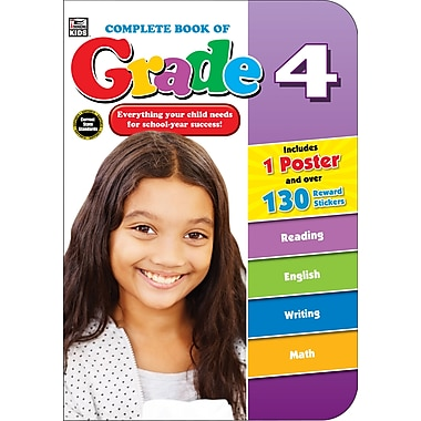 eBook: Thinking Kids 704674-EB Complete Book of, Grade 4, Grade 4