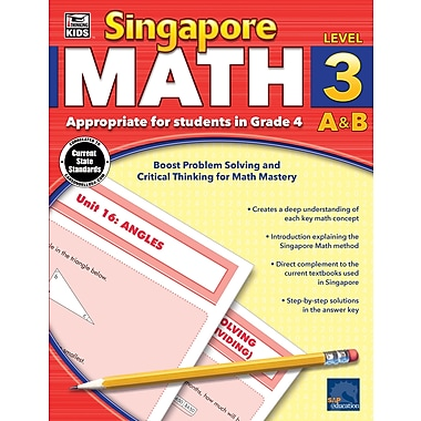eBook: Thinking Kids 704681-EB Singapore Math, Grade 4