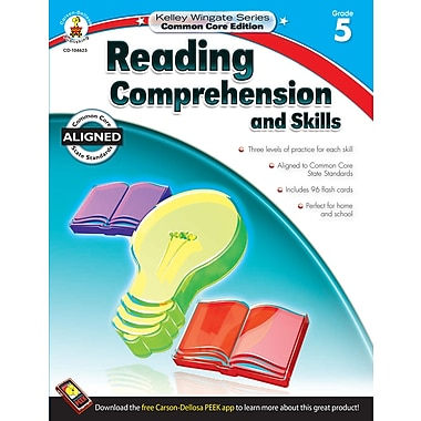 Livre numérique : Carson-Dellosa� -- Reading Comprehension and Skills 104623-EB, 5e année