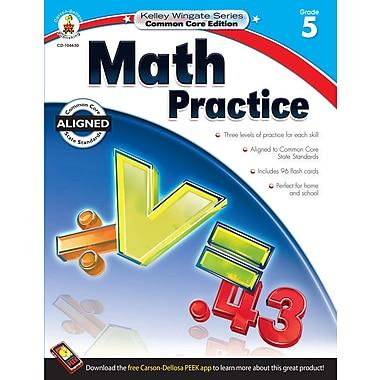 eBook: Carson-Dellosa 104630-EB Math Practice, Grade 5