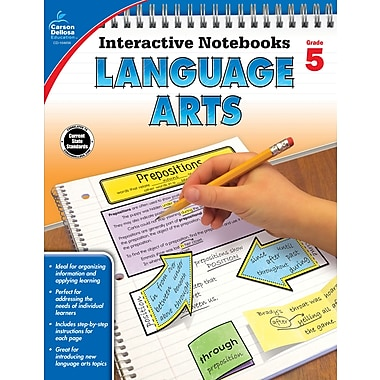 eBook: Carson-Dellosa 104656-EB Language Arts, Grade 5