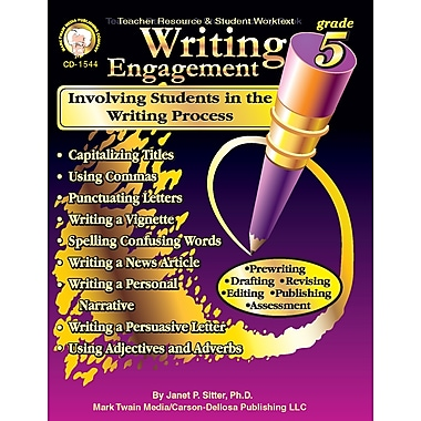 eBook: Mark Twain 1544-EB Writing Engagement, Grade 5