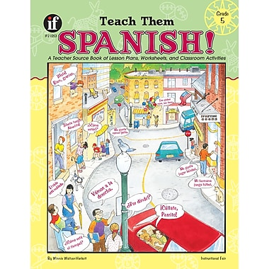 eBook: Instructional Fair 1568226829-EB Teach Them Spanish!, Grade 5