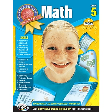 eBook: American Education Publishing 704082-EB Math, Grade 5