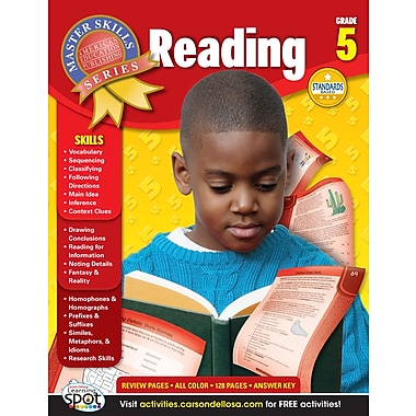 eBook: American Education Publishing 704090-EB Reading, Grade 5