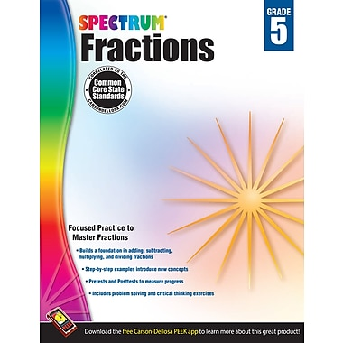 eBook: Spectrum 704511-EB Fractions, Grade 5