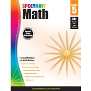 eBook: Spectrum 704565-EB Spectrum Math, Grade 5
