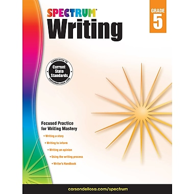 eBook: Spectrum 704574-EB Spectrum Writing, Grade 5