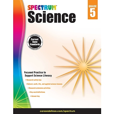 eBook: Spectrum 704618-EB Spectrum Science, Grade 5
