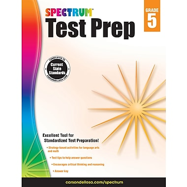 eBook: Spectrum 704685-EB Spectrum Test Prep, Grade 5