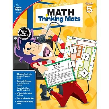 e-Book: Carson-Dellosa 104903-EB Math Thinking Mats, Grade 5