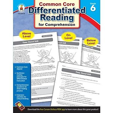 Livre numérique : Carson-Dellosa� -- Differentiated Reading for Comprehension 104618-EB, 6e année